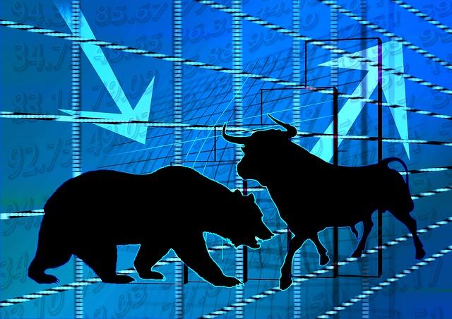 Bear en bull mark trends bij binaire opties